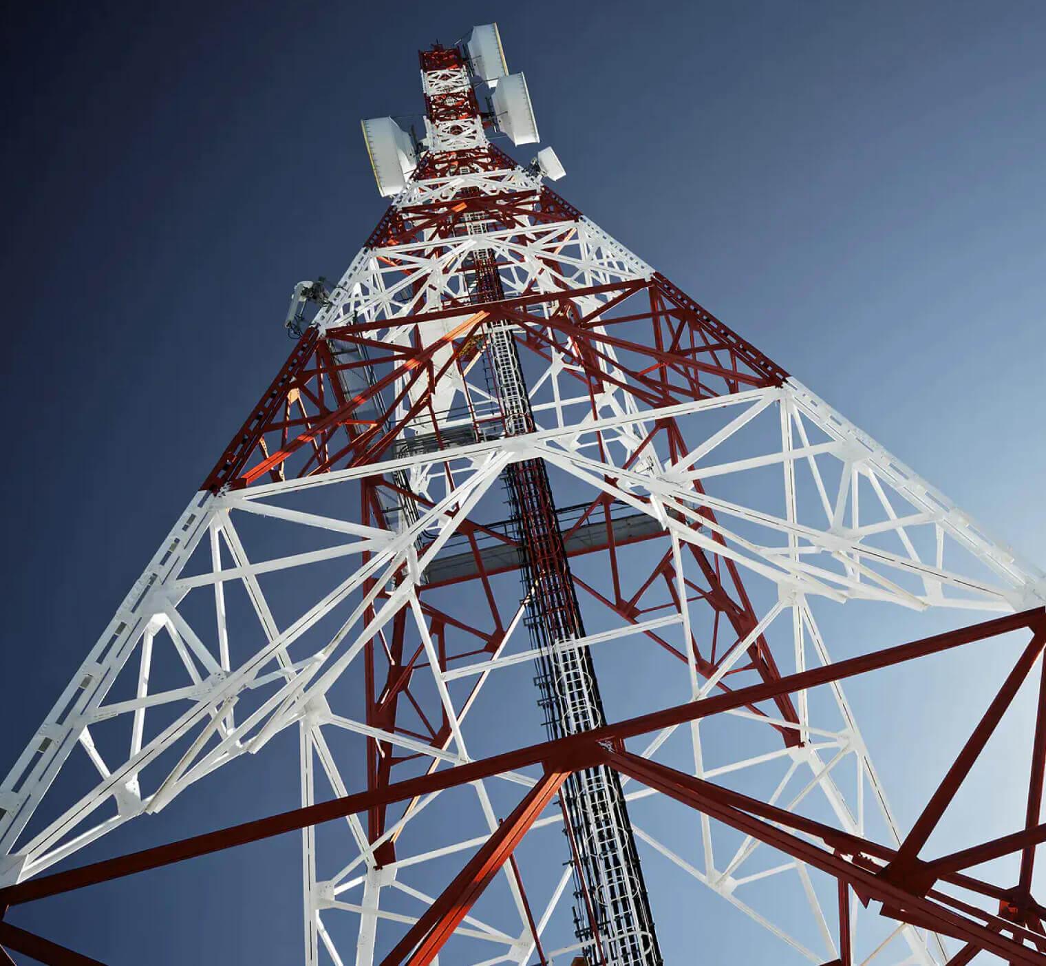 Telecom Infrastructure hero image